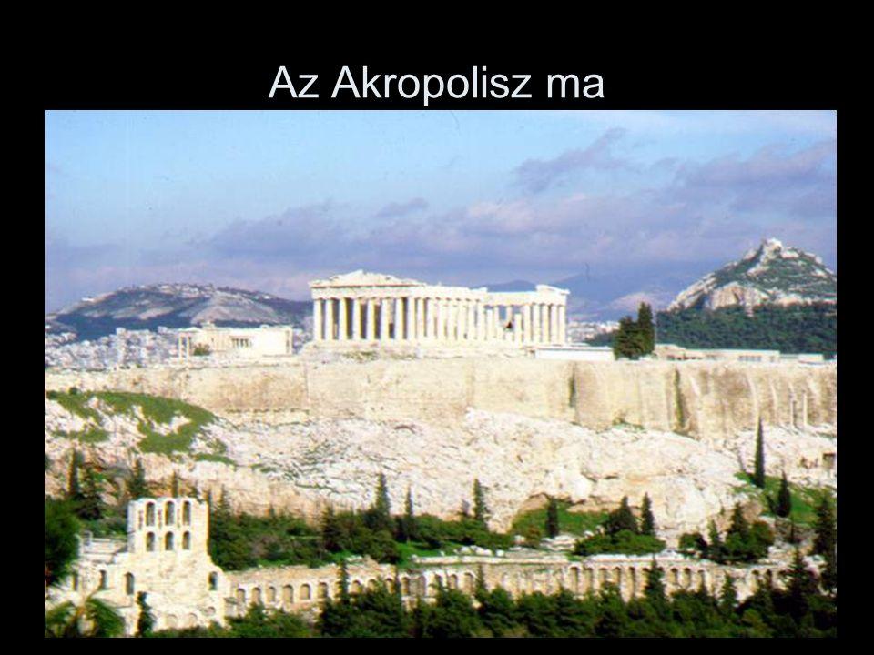 Az Akropolisz ma
