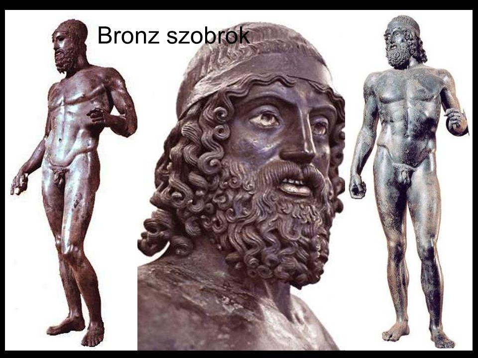 Bronz szobrok
