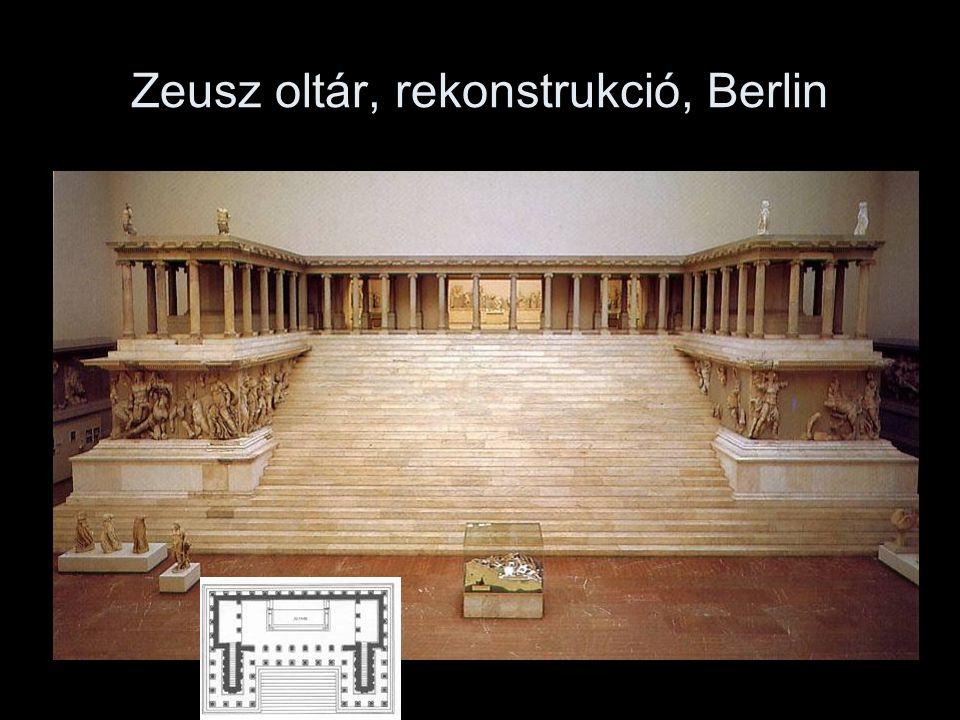 Zeusz oltár, rekonstrukció, Berlin