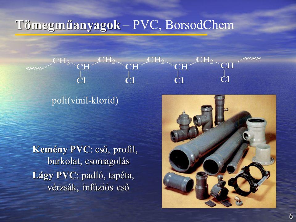 Tömegműanyagok – PVC, BorsodChem