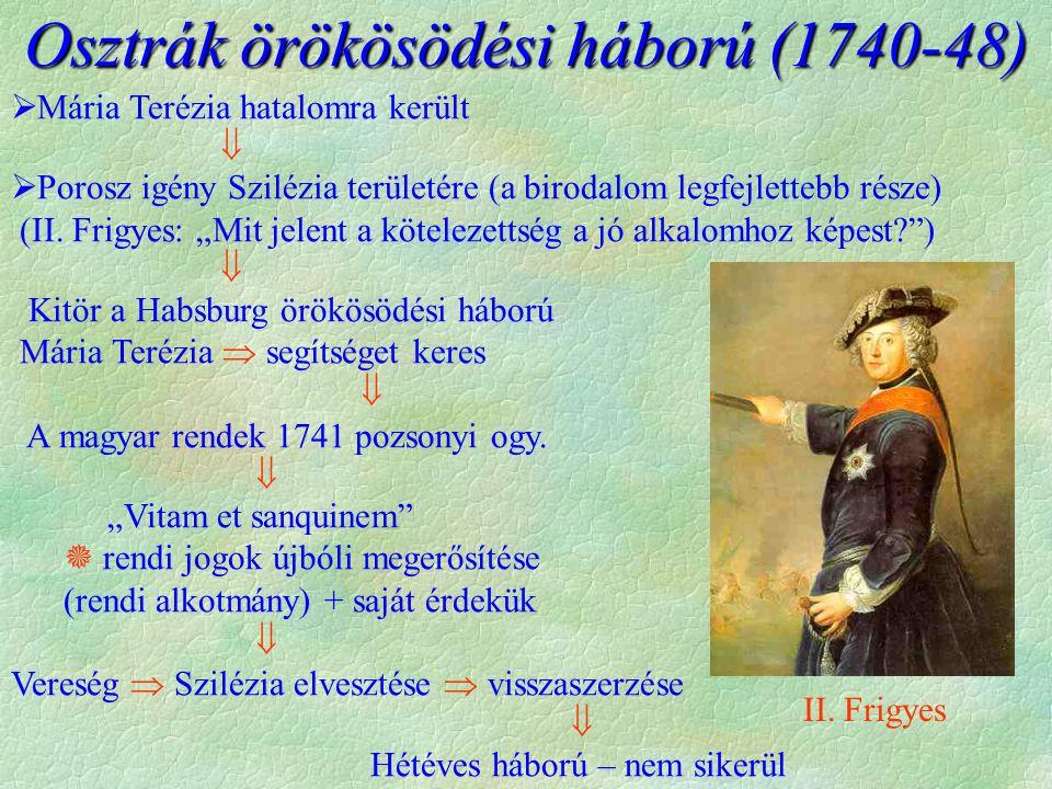 Osztrák örökösödési háború (1740-48)
