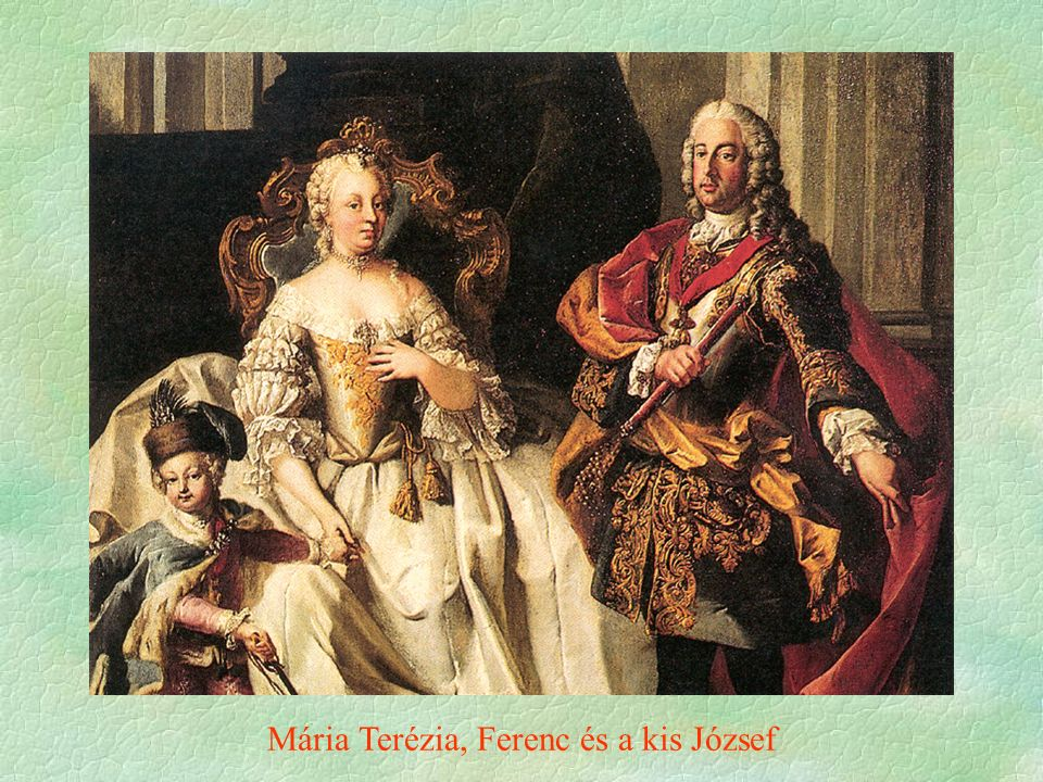 Mária Terézia, Ferenc és a kis József