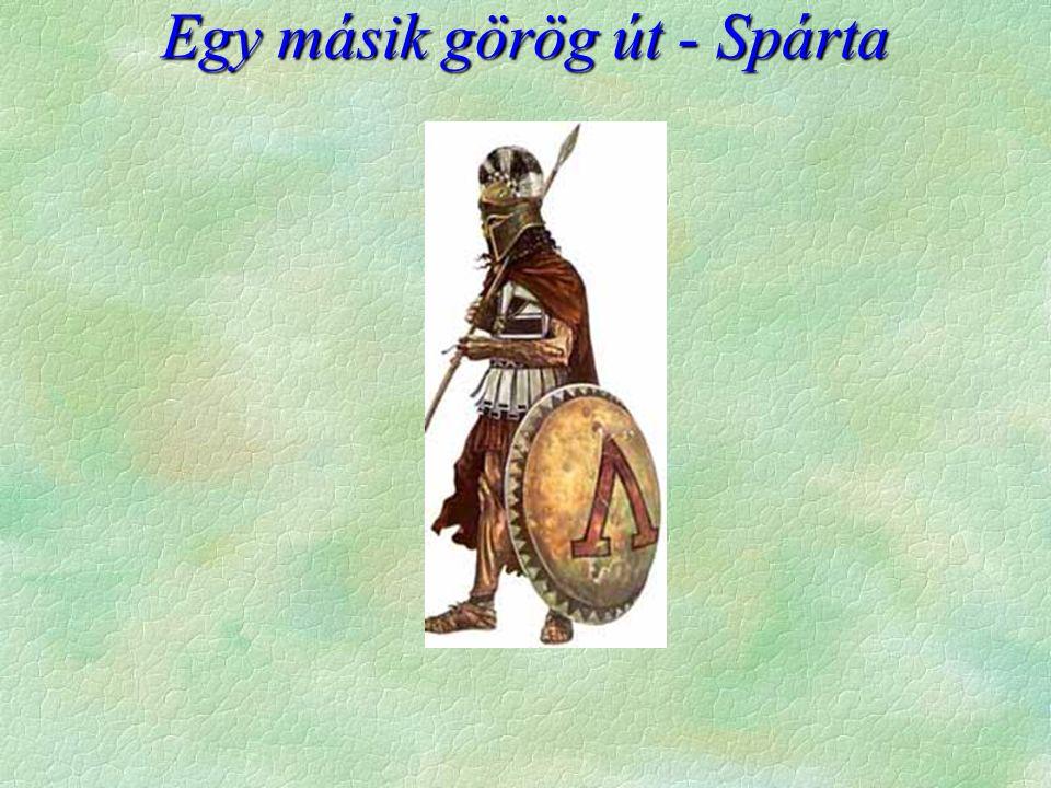 Egy másik görög út - Spárta