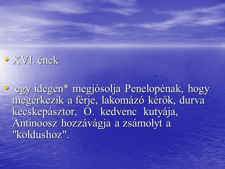 XVI. ének