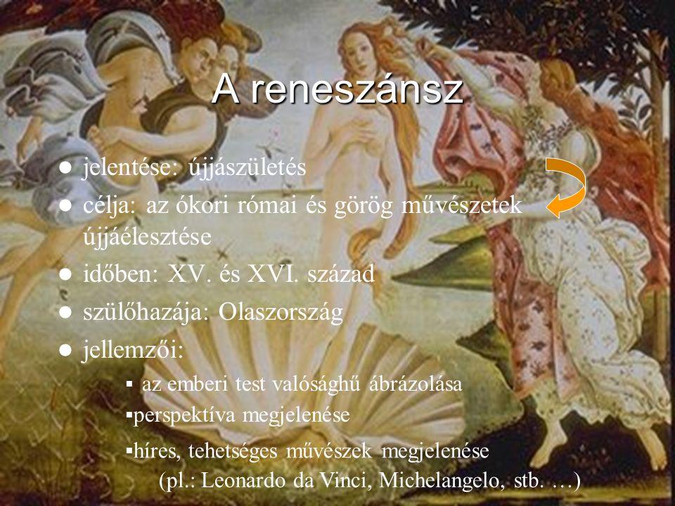 A reneszánsz jelentése: újjászületés