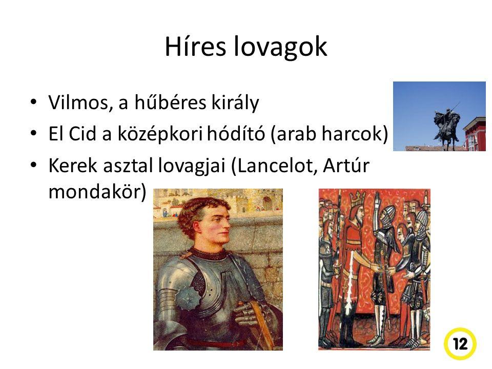 Híres lovagok Vilmos, a hűbéres király