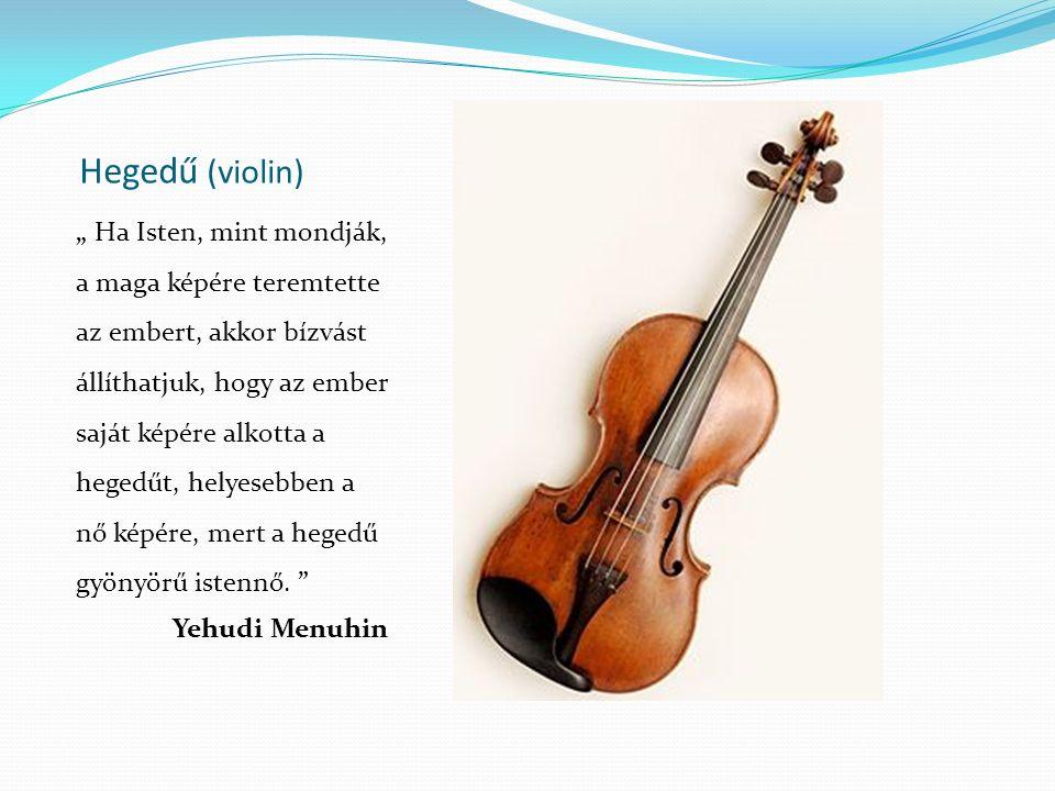 Hegedű (violin)