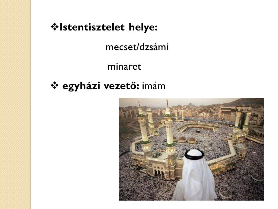 Istentisztelet helye: