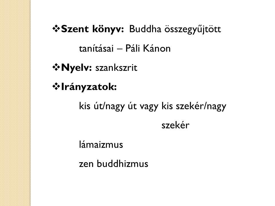 Szent könyv: Buddha összegyűjtött tanításai – Páli Kánon