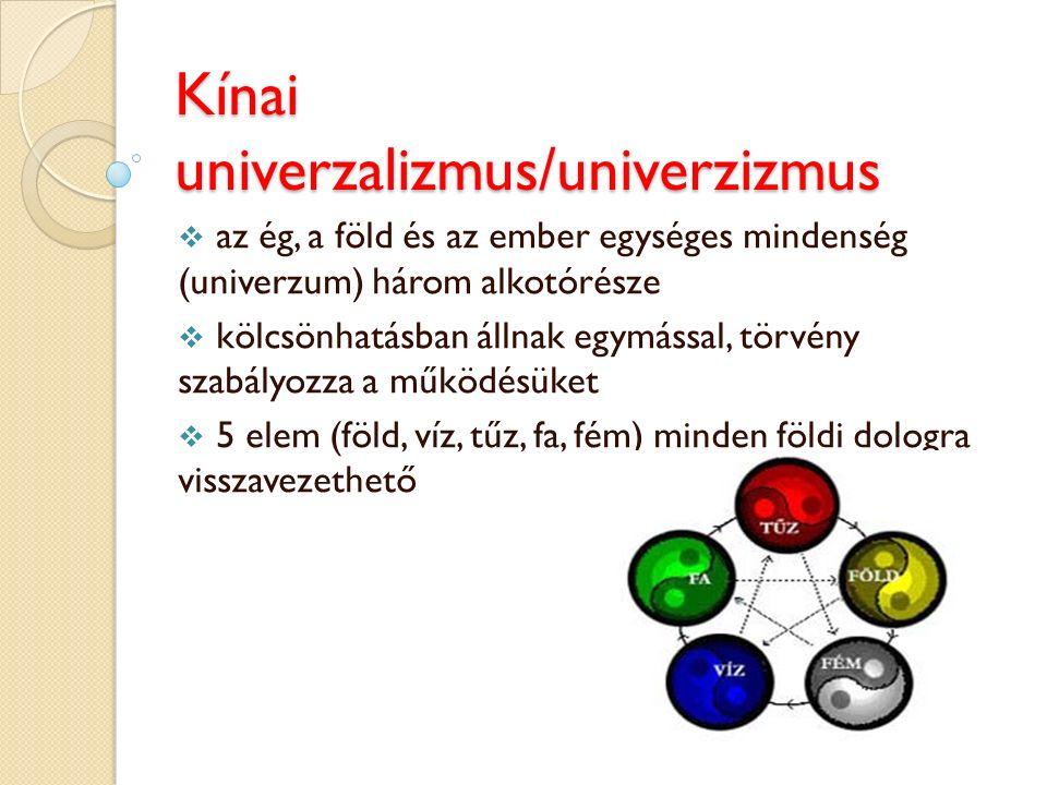 Kínai univerzalizmus/univerzizmus