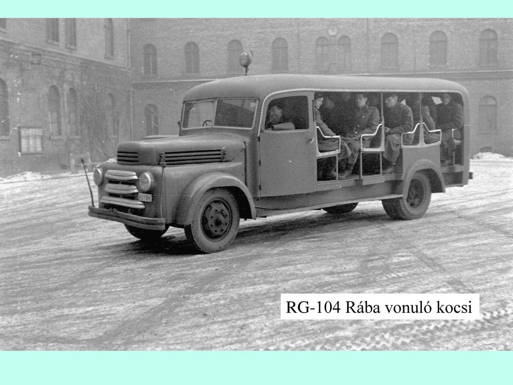 RG-104 Rába vonuló kocsi