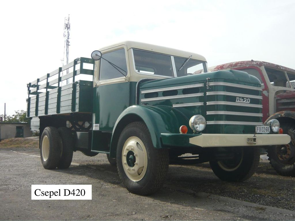 Csepel D420