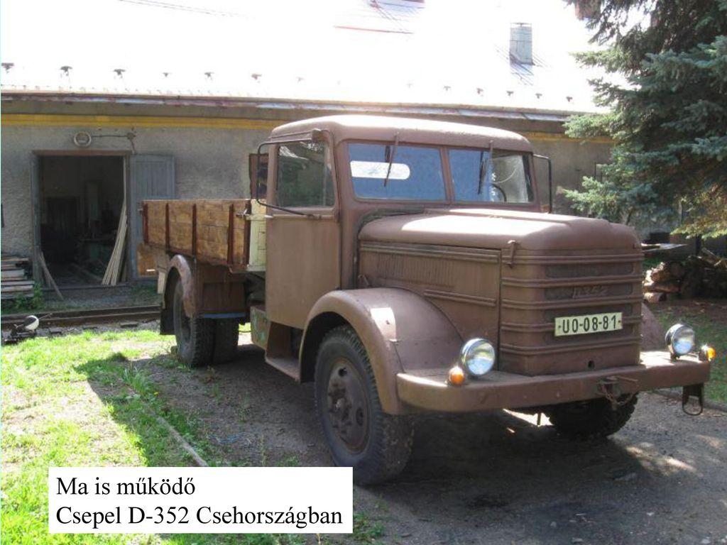 Ma is működő Csepel D-352 Csehországban