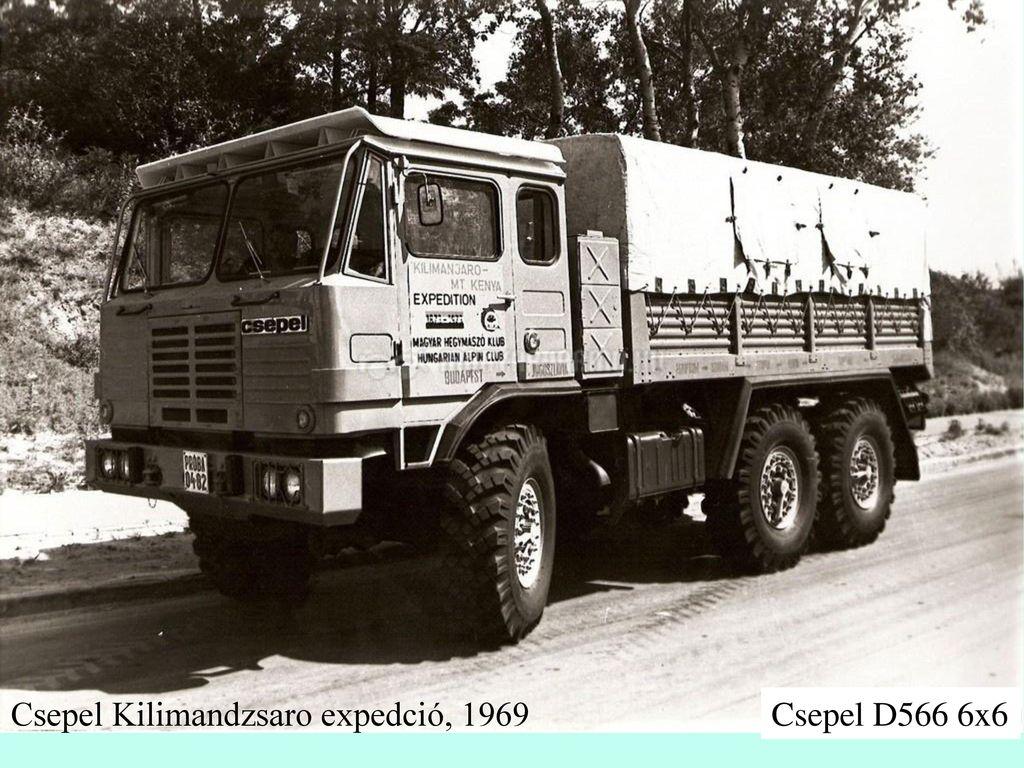 Csepel Kilimandzsaro expedció, 1969