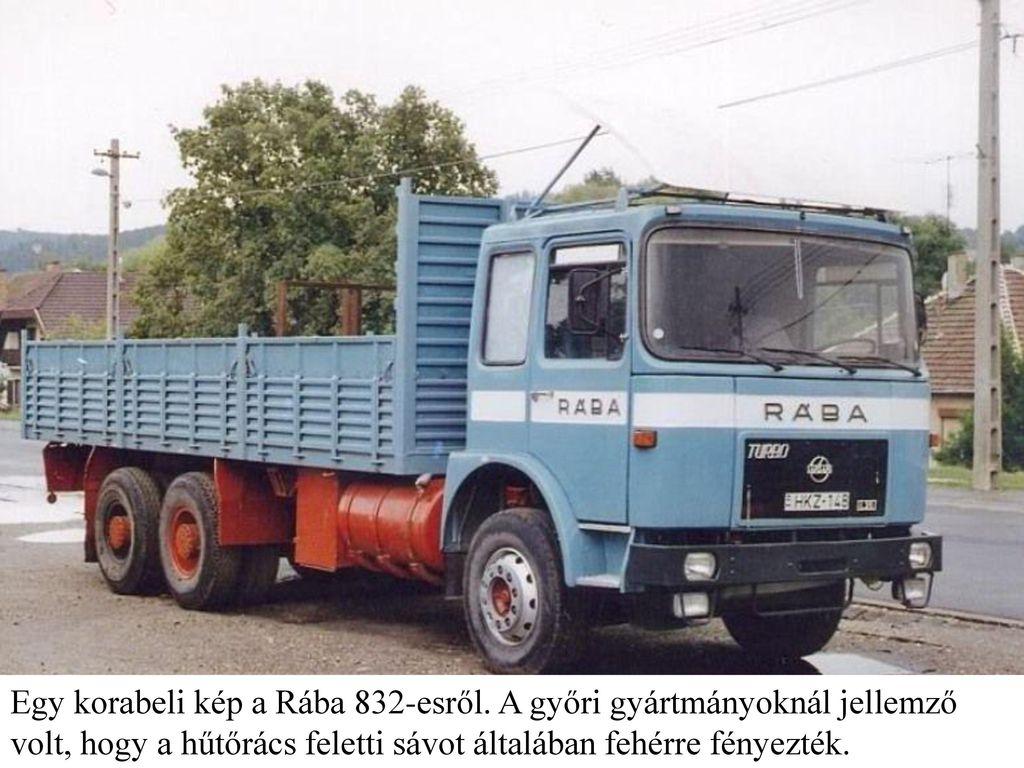 Egy korabeli kép a Rába 832-esről