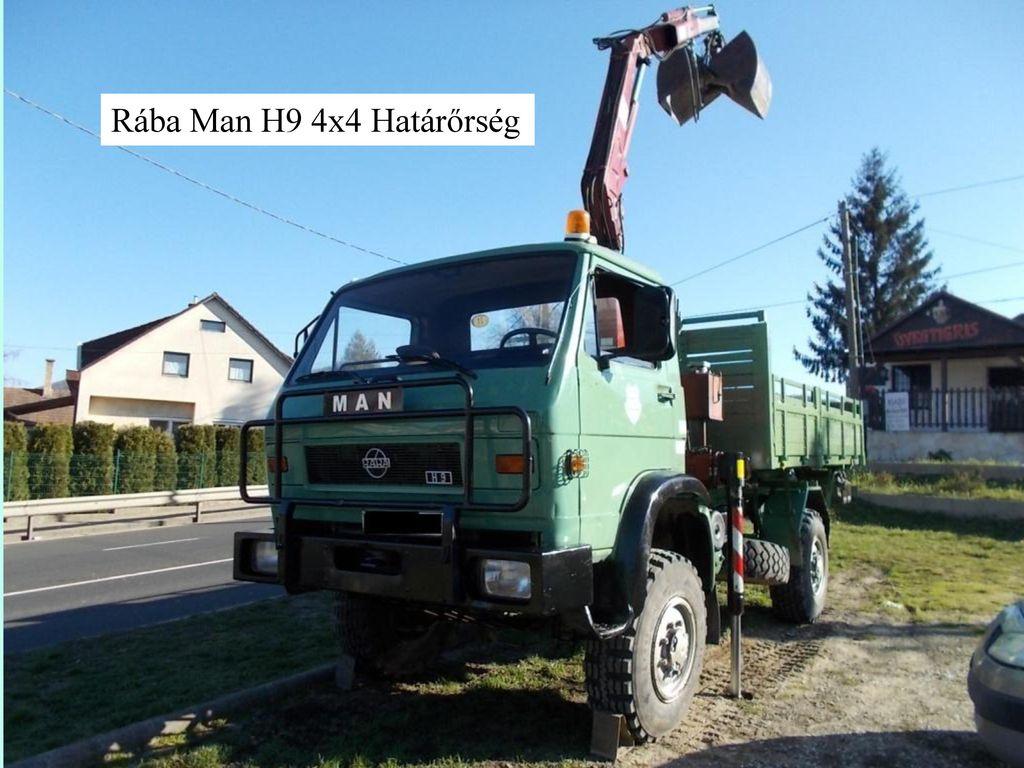 Rába Man H9 4x4 Határőrség
