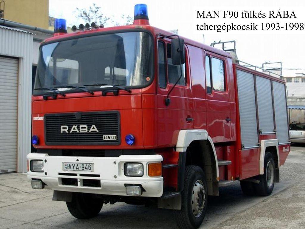 MAN F90 fülkés RÁBA tehergépkocsik 1993-1998