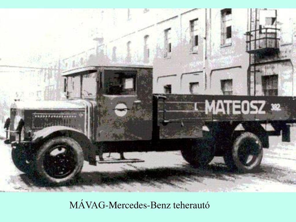 MÁVAG-Mercedes-Benz teherautó