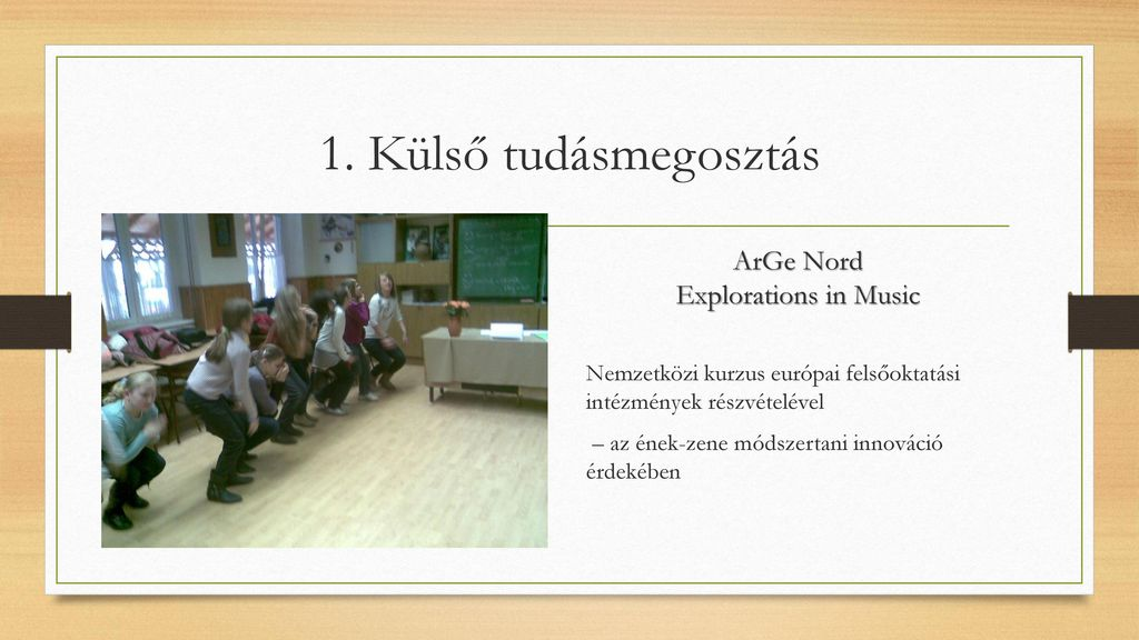 ArGe Nord Explorations in Music