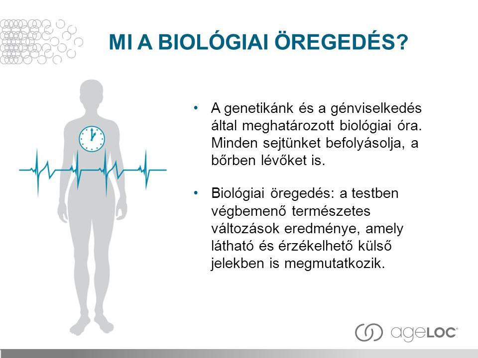 MI A BIOLÓGIAI ÖREGEDÉS