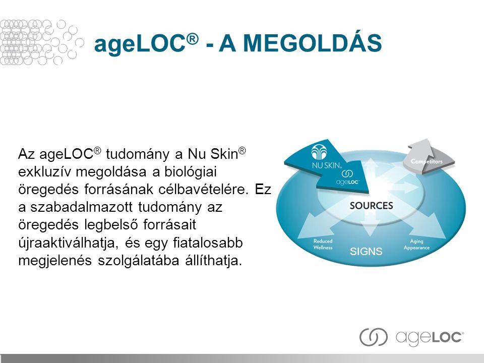 ageLOC® - A MEGOLDÁS