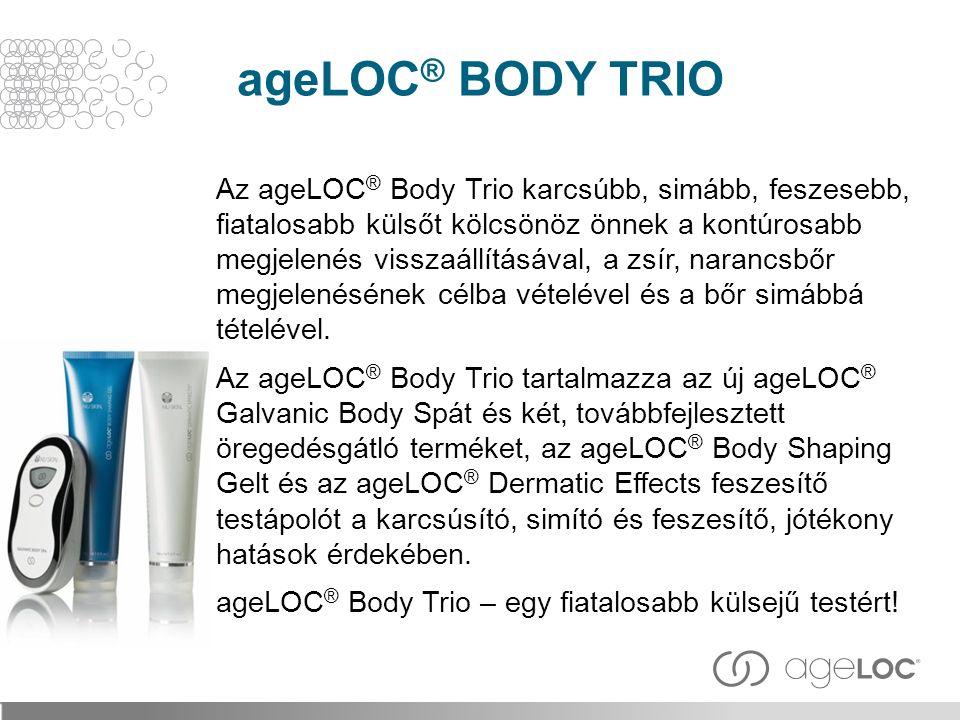 ageLOC® BODY TRIO