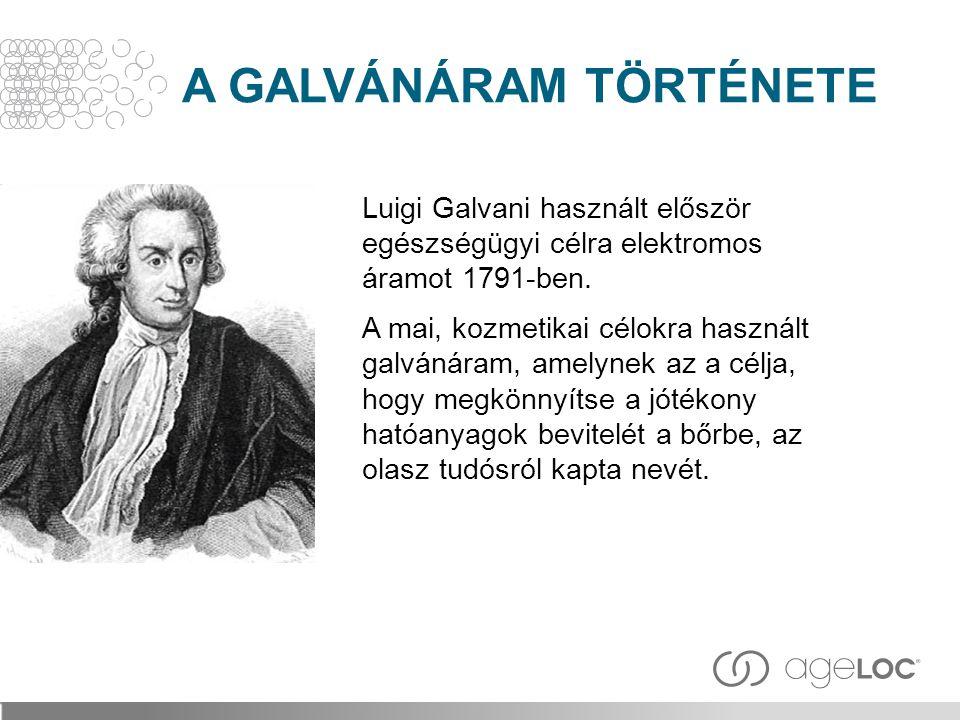 A GALVÁNÁRAM TÖRTÉNETE
