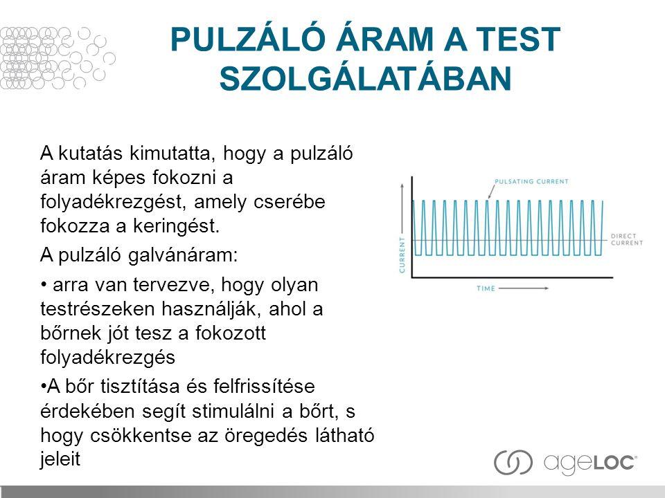 PULZÁLÓ ÁRAM A TEST SZOLGÁLATÁBAN