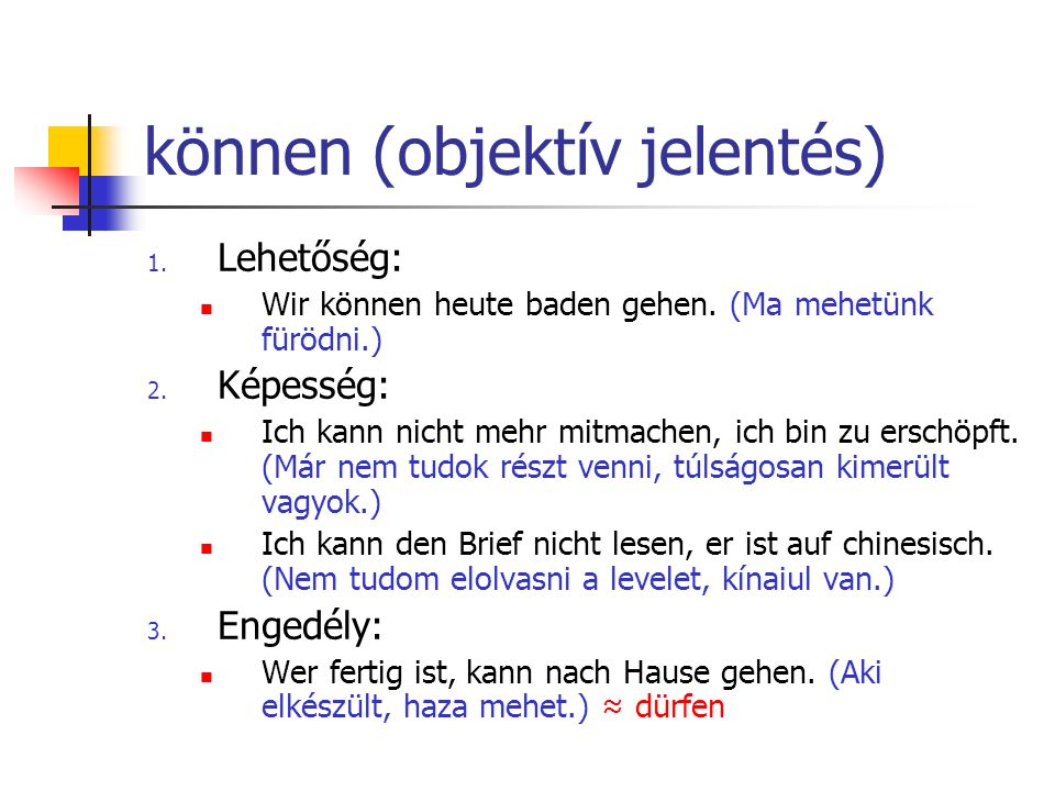 können (objektív jelentés)