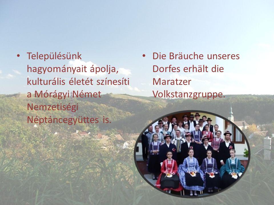 Településünk hagyományait ápolja, kulturális életét színesíti a Mórágyi Német Nemzetiségi Néptáncegyüttes is.