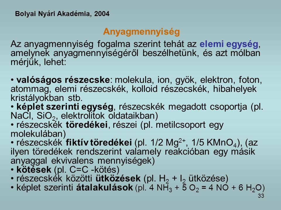 részecskék töredékei, részei (pl. metilcsoport egy molekulában)