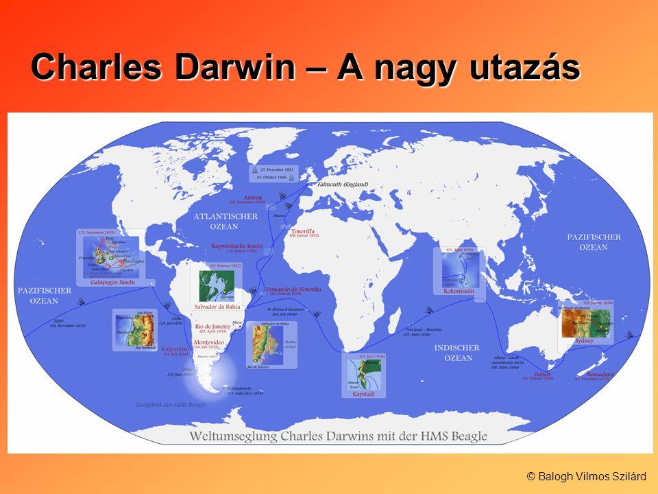 Charles Darwin – A nagy utazás