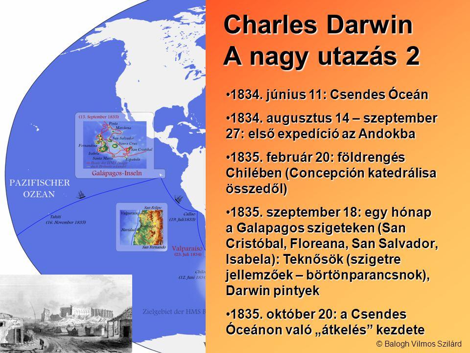 Charles Darwin A nagy utazás 2
