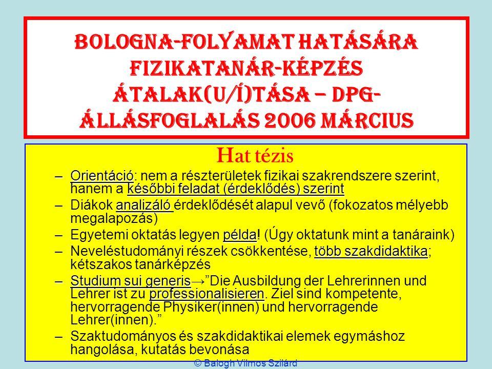 © Balogh Vilmos Szilárd