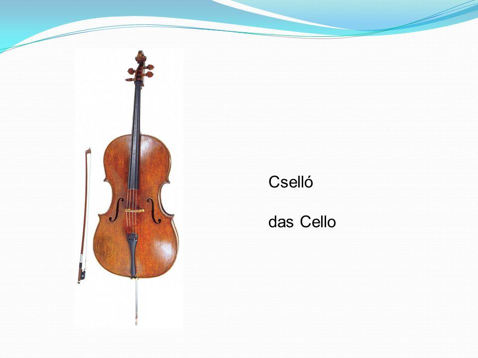 Cselló das Cello