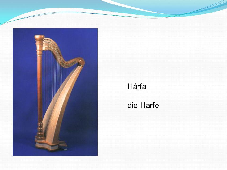 Hárfa die Harfe