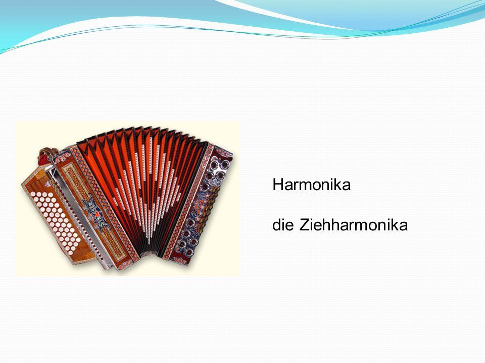 Harmonika die Ziehharmonika