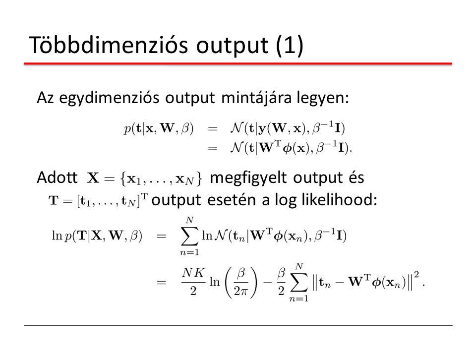 Többdimenziós output (1)