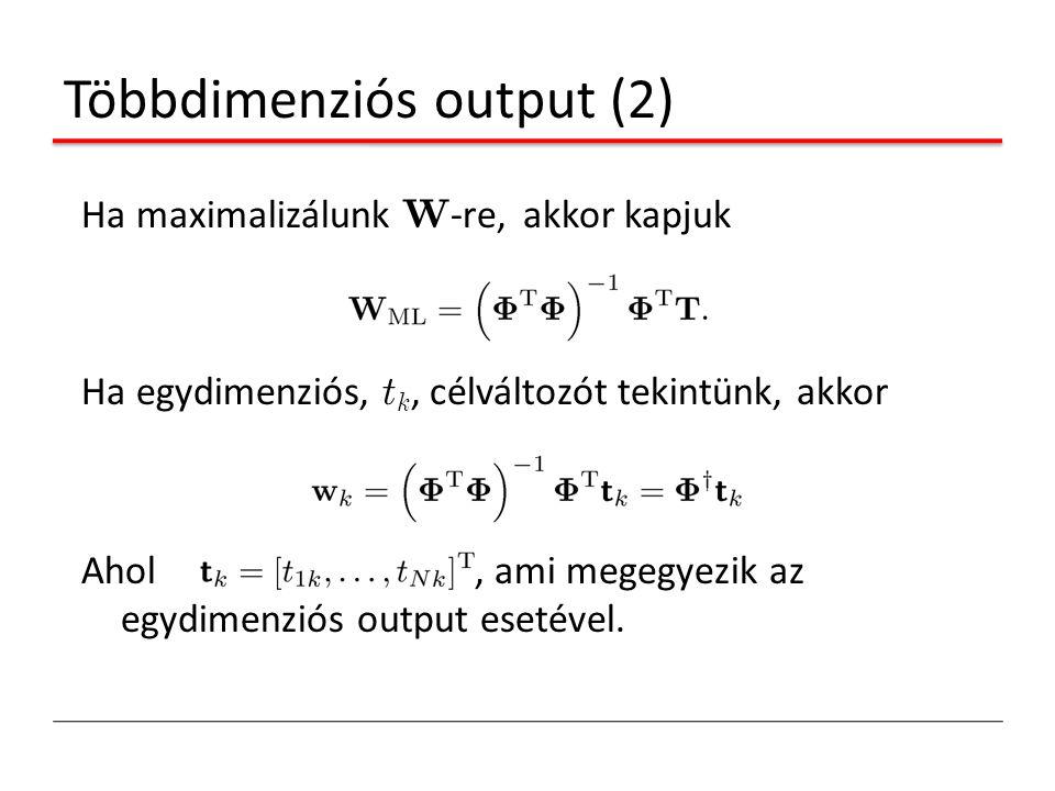 Többdimenziós output (2)
