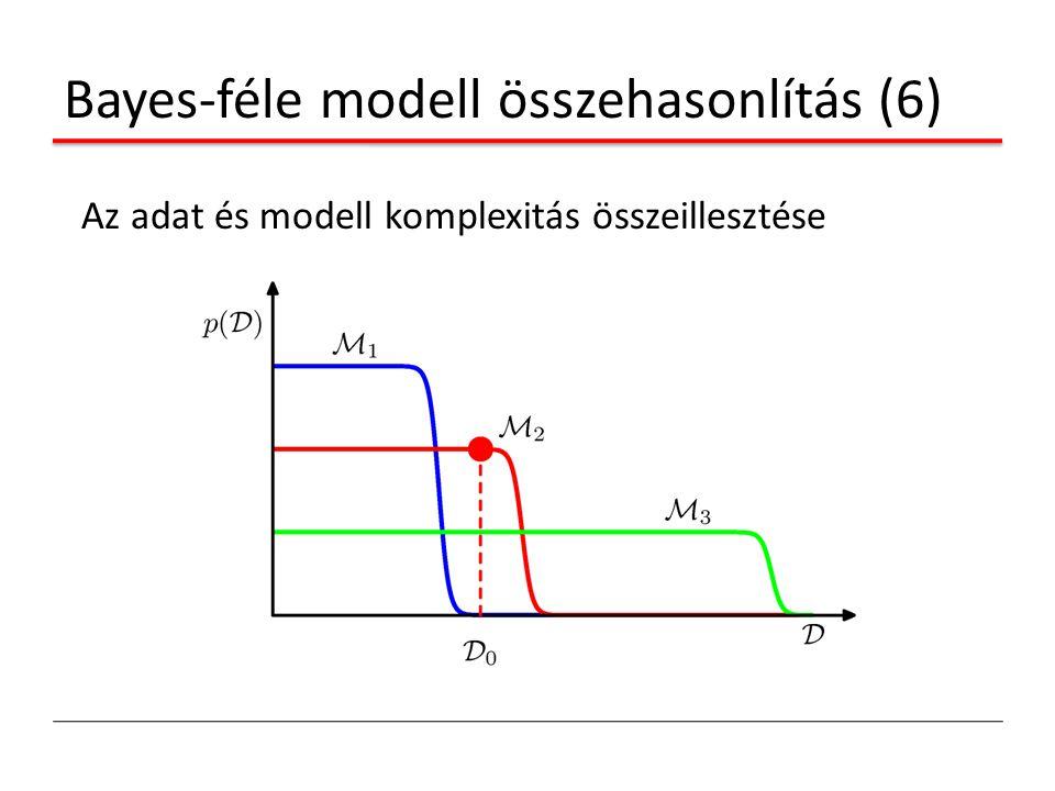 Bayes-féle modell összehasonlítás (6)