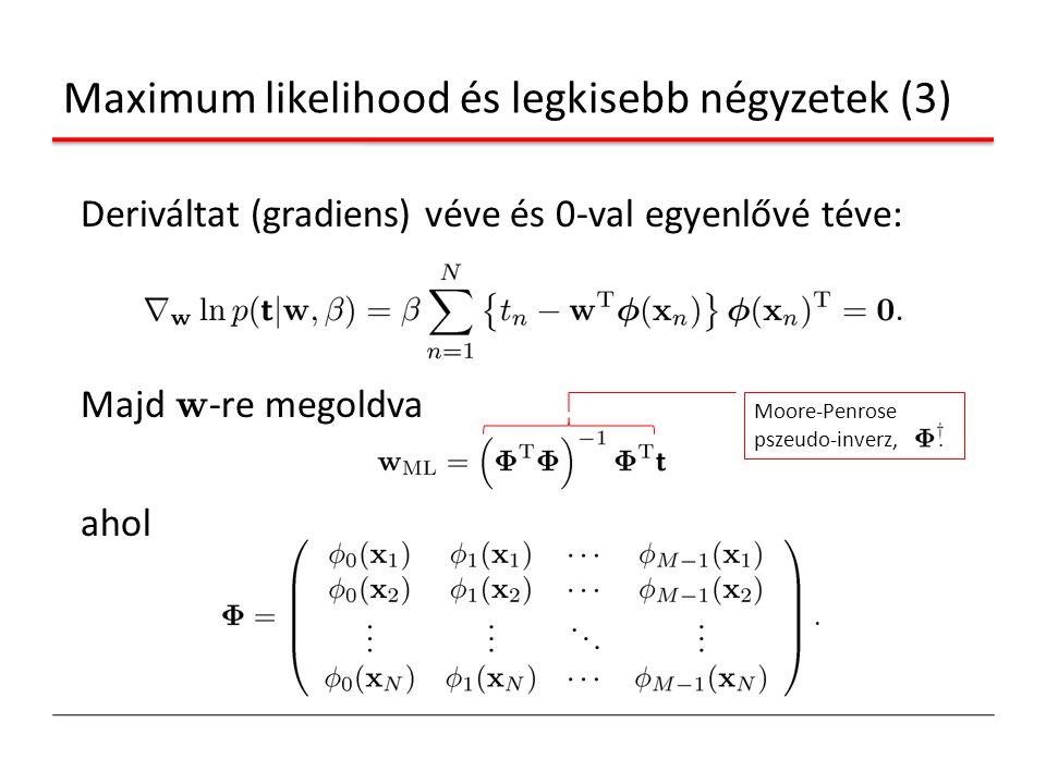 Maximum likelihood és legkisebb négyzetek (3)
