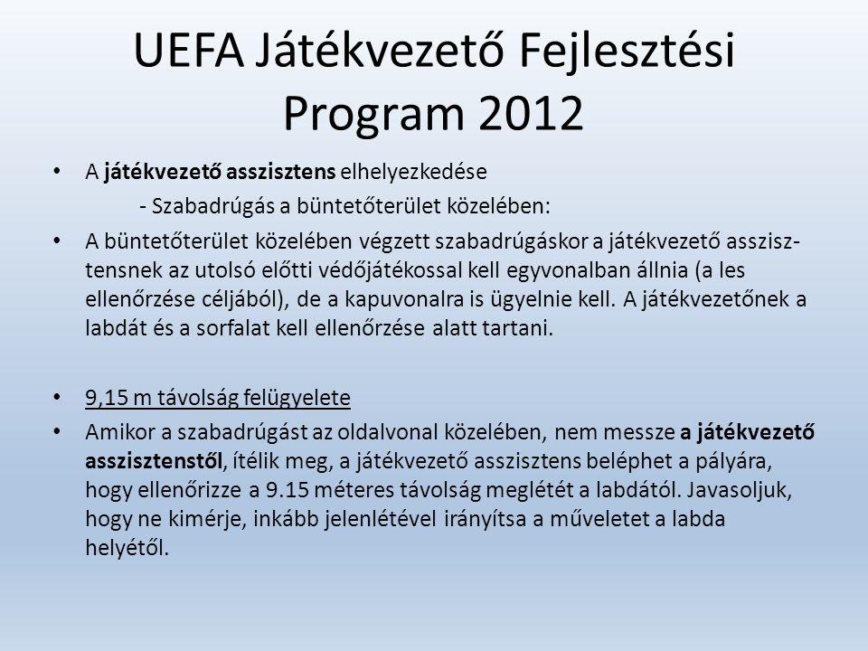 UEFA Játékvezető Fejlesztési Program 2012