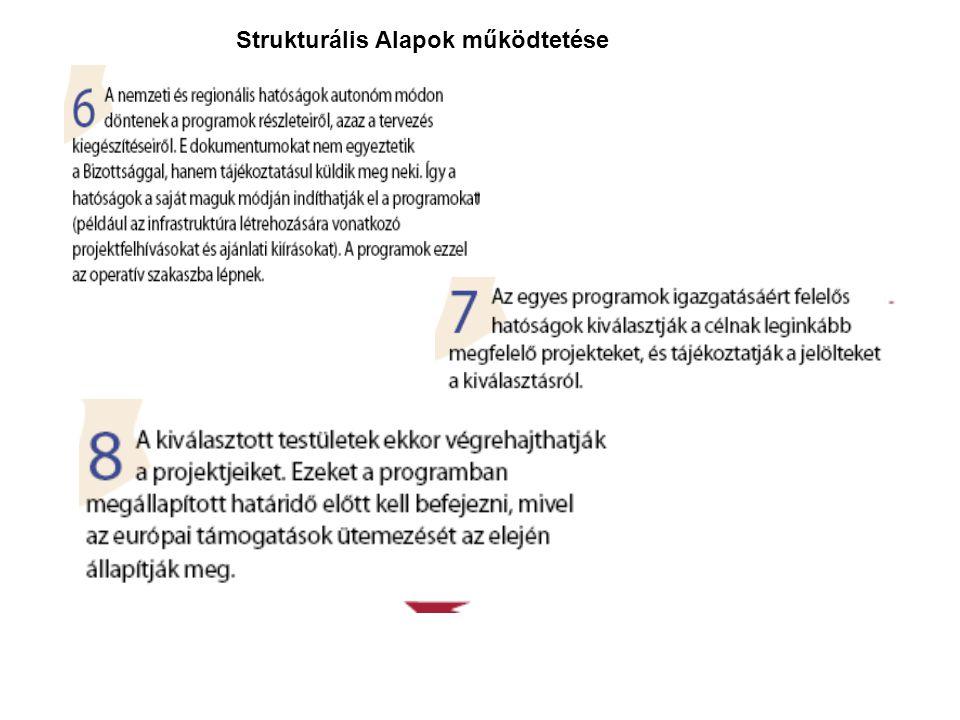 Strukturális Alapok működtetése