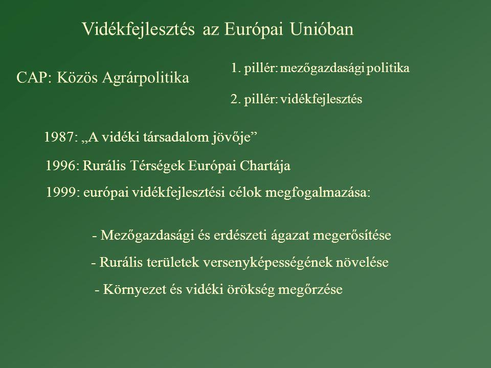 Vidékfejlesztés az Európai Unióban