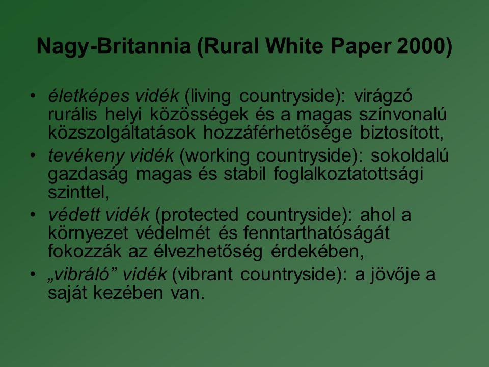 Nagy-Britannia (Rural White Paper 2000)