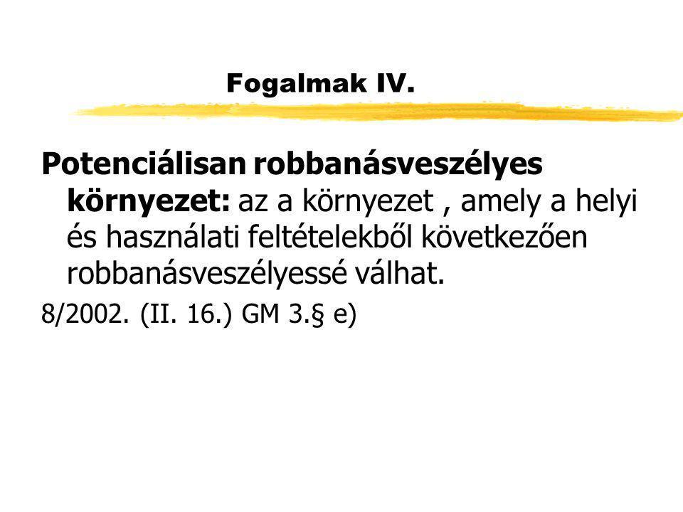 Fogalmak IV.