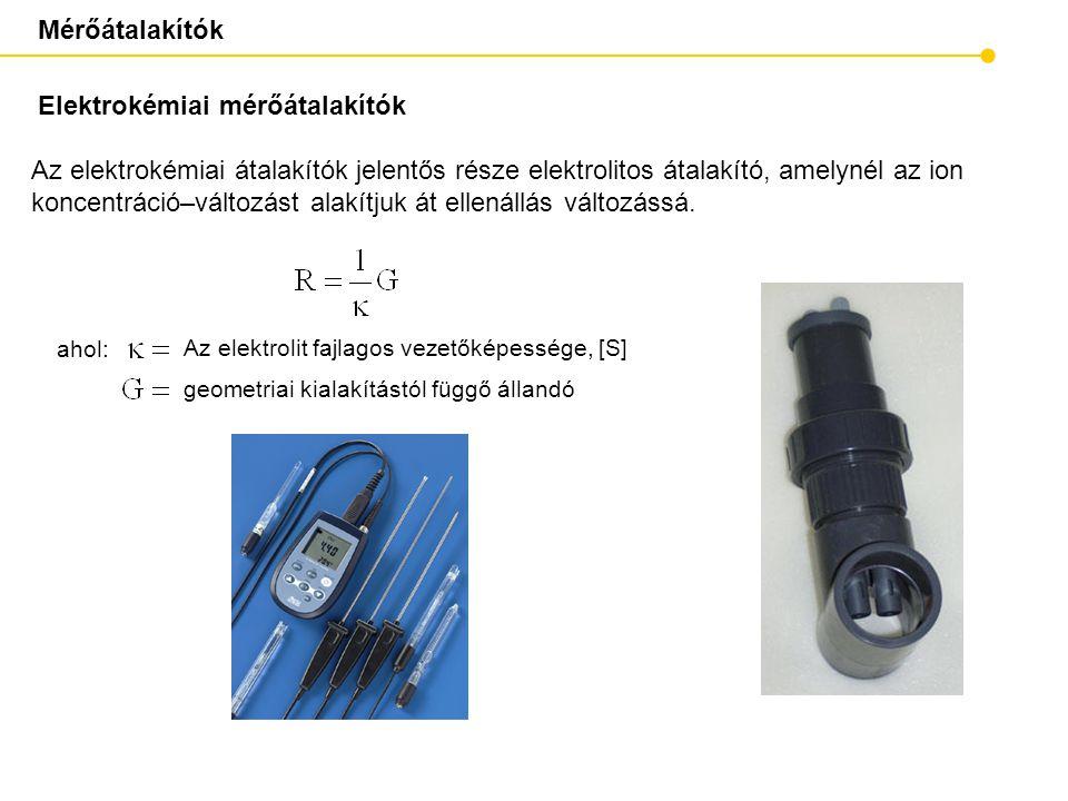 Elektrokémiai mérőátalakítók