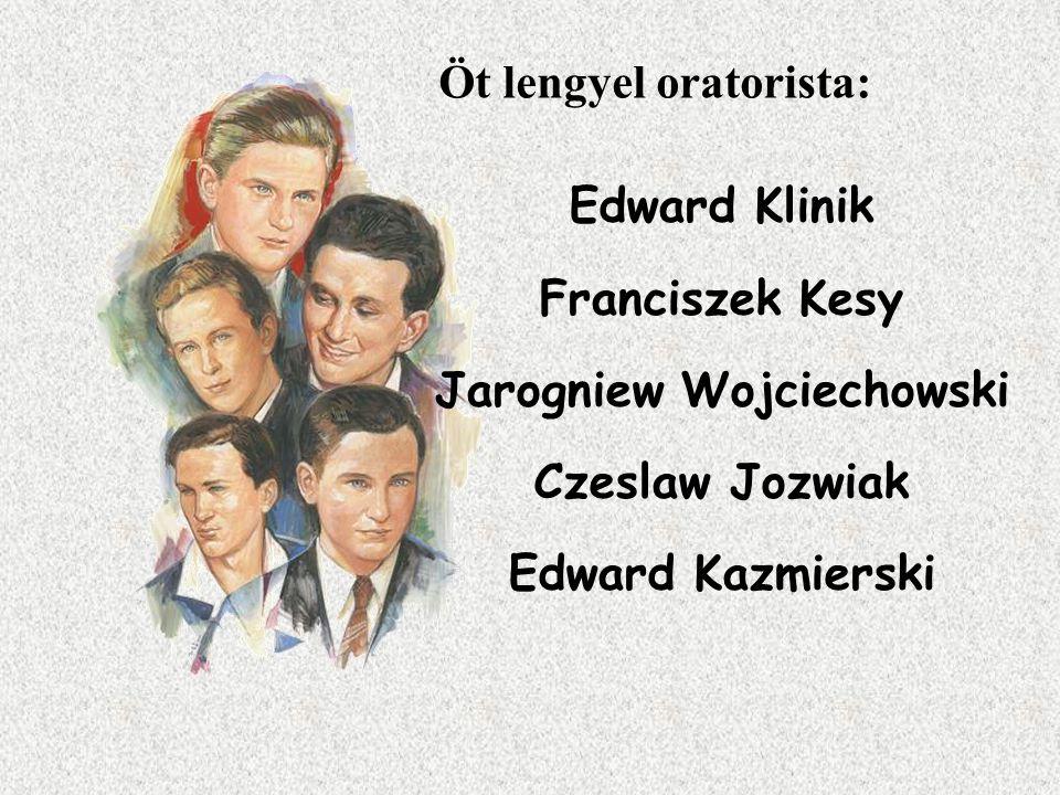 Öt lengyel oratorista: Jarogniew Wojciechowski