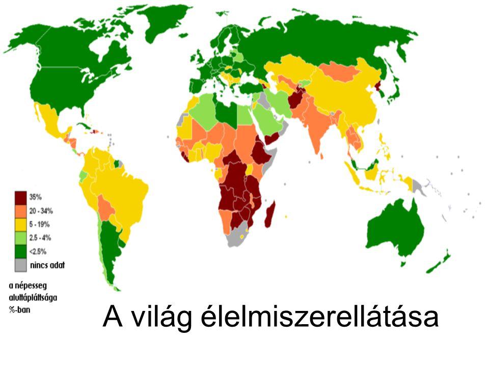 A világ élelmiszerellátása