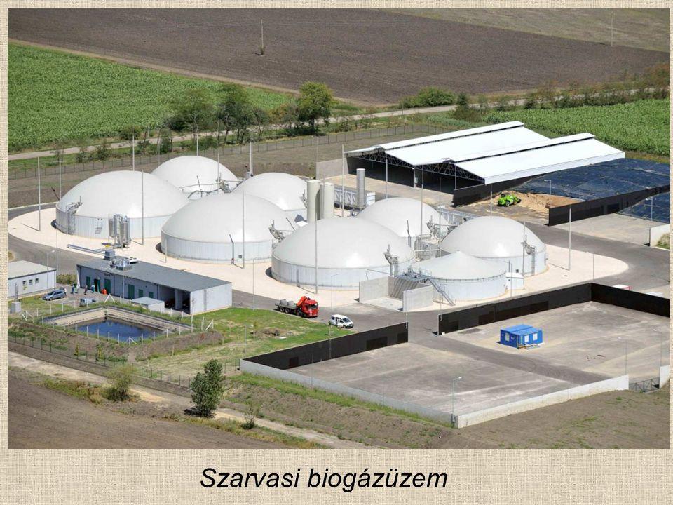 Szarvasi biogázüzem